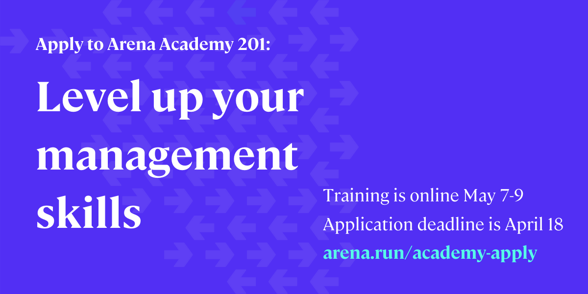 Apply to Arena Academy